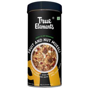 True Elements Fruit And Nut Muesli 400gm