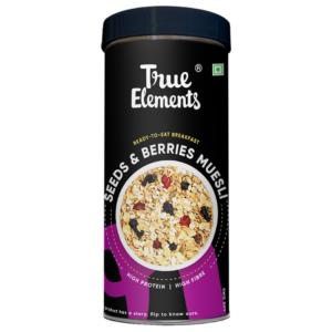 True Elements Seeds And Berries Muesli 400gm
