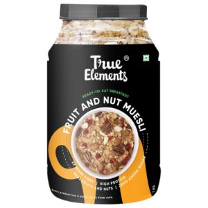True Elements Fruit And Nut Muesli 1000gm