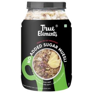 True Elements No Added Sugar Muesli 1000gm
