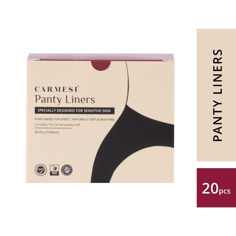 Carmesi Panty Liners - Designed for Sensitive Skin (20 Pcs)