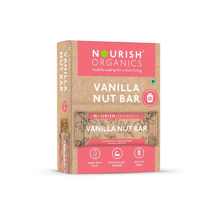 Vanilla Nut Bar (Pack of 6)
