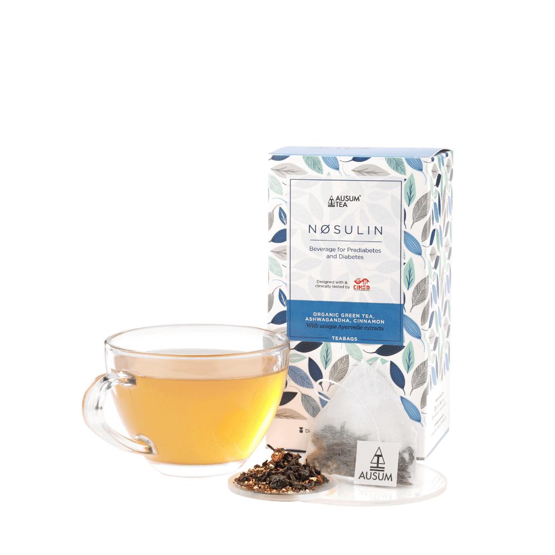 NOSULIN GREEN TEA - Green Tea Blend | 15 Tea Bags