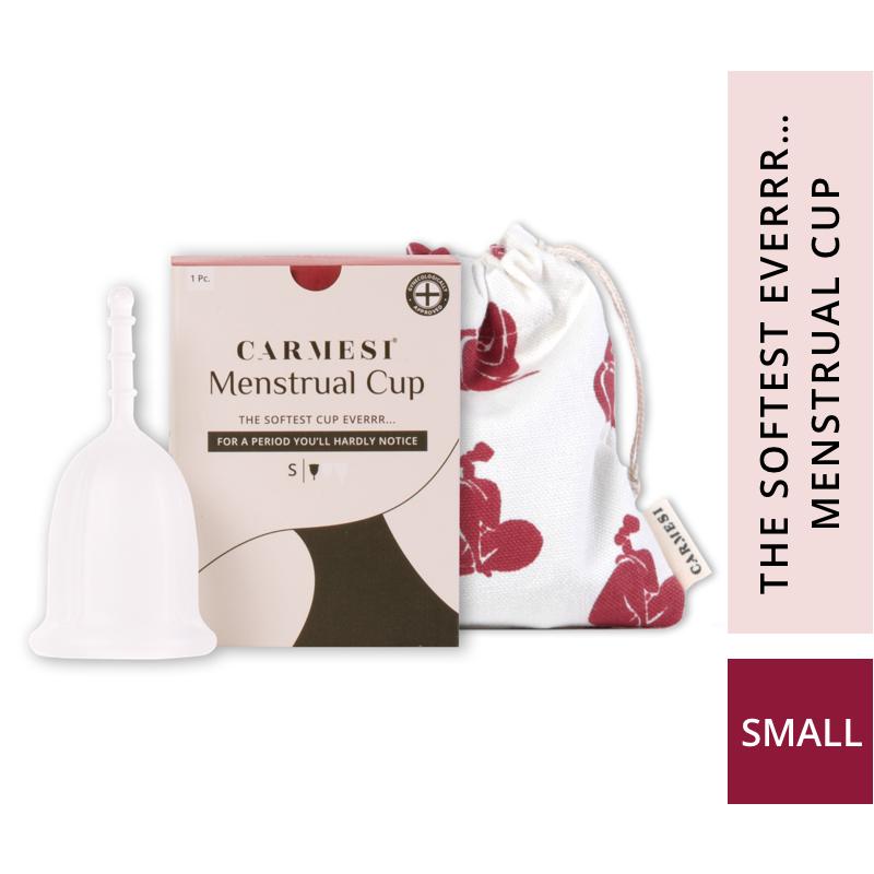 Carmesi Reusable Menstrual Cup - The Softest Cup Everrr...
