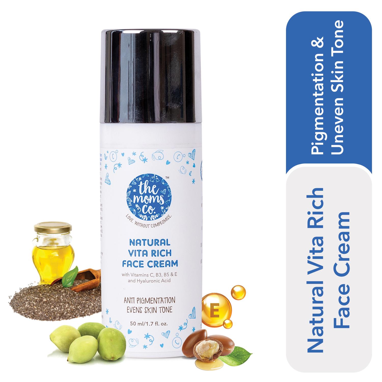 The Moms Co. Natural Vita Rich Face Cream (50 ml)