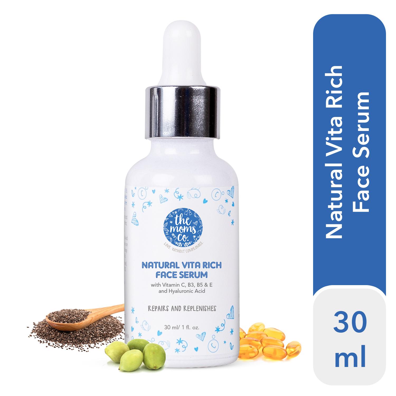 The Moms Co. Natural Vita Rich Face Serum (30 ml)
