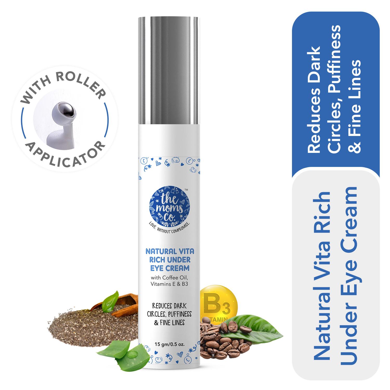 The Moms Co. Natural Vita Rich Under Eye Cream (15 gm)