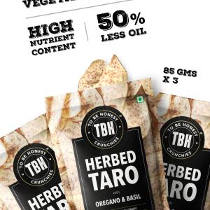 Herbed Taro Crunchies - Pack Of 3