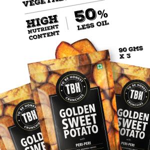 Golden Sweet Potato Crunchies - Pack of 3
