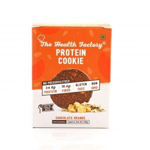 THF Protein Cookie - Chocolate Orange (1 box, 6 packs x 2 cookies)