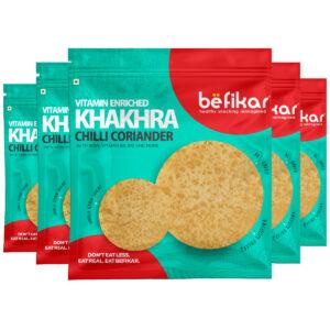 Chilli Coriander Khakhra (Pack of 5 )