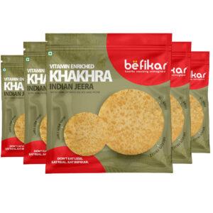 Indian Jeera Khakhra (Pack of 5)