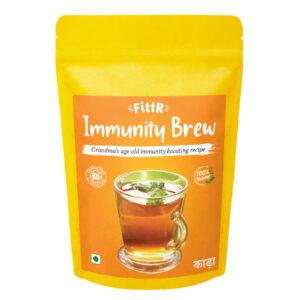 FittR Immunity Brew Ayurvedic Kadha Mix 200g (makes 50 cups)