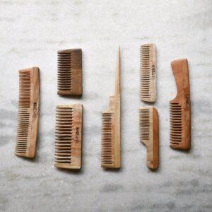 Organic Neem Wood Comb, Gift Set