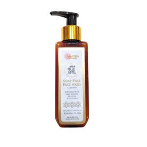Amayra Naturals Soap-Free | Hemp & Aloe Face Wash Cleanser – 100ml