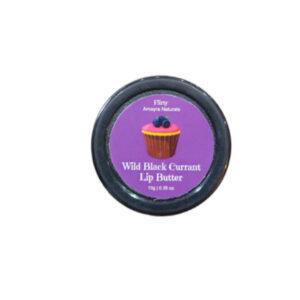 Amayra Naturals Wild Black Currant Lip Butter - 10G