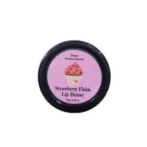 "Amayra Naturals Sweet Fritillisios ""Strawberry Lip Butter""   10gm"