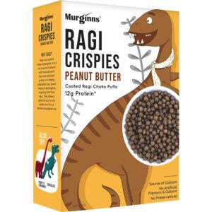 Murginns Ragi Crispies Peanut Butter 200gm