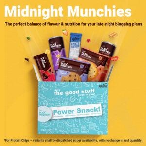 RiteBite Max Protein - Healthy Snack Box - Midnight Munchies Assorted Gifting Combo Pack, 1630g