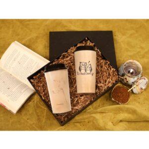 KSAMAH Eco Coffee/Tea Lover Gift Box