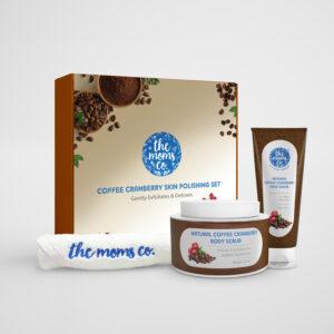 Coffee Cranberry Skin Polishing Set