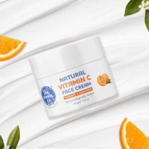 Natural Vitamin C Face Cream With Mono Cartons 50 gm