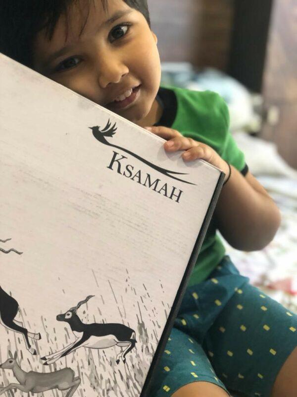 KSAMAH Eco-Friendly Kids Box