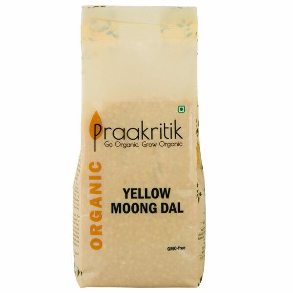 Praakritik Organic Yellow Moong Dal (Pack Of 3)