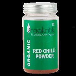Praakritik Organic Red Chilli (Pack Of 5)