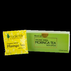 Praakritik Organic Moringa Tea (14 Sachets)
