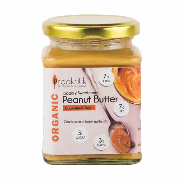 Praakritik Peanut Butter (Jaggery Sweetened)