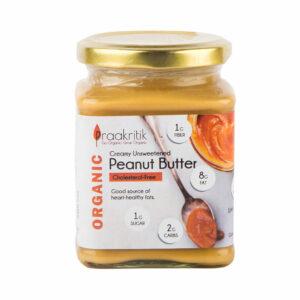 Praakritik Peanut Butter (Creamy Unsweetened)