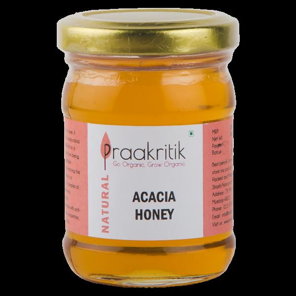 Praakritik Natural Acacia Honey