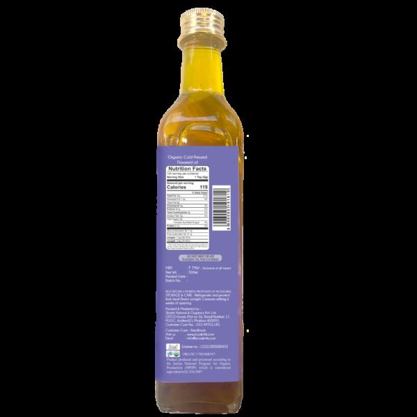 Praakritik Organic Cold Pressed Flaxseed Oil