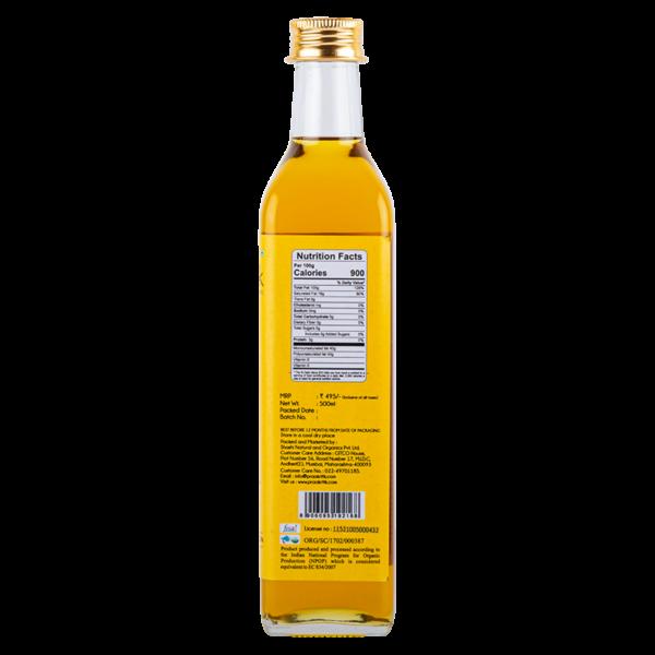 Praakritik Organic Cold Pressed Sesame Oil