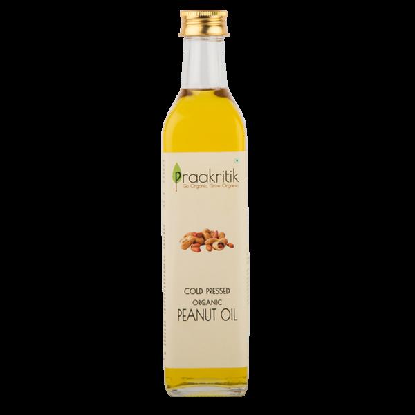 Praakritik Organic Cold Pressed Peanut Oil