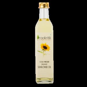 Praakritik Organic Cold Pressed Sunflower Oil