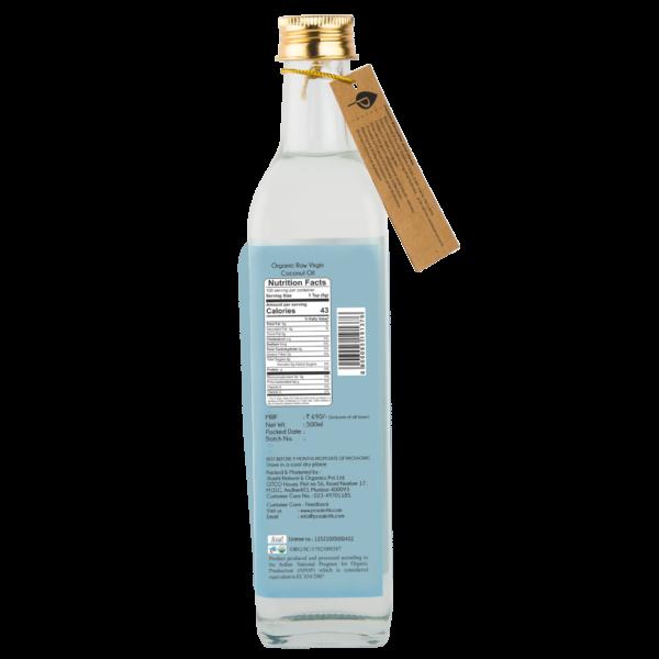 Praakritik Organic Extra Virgin Coconut Oil