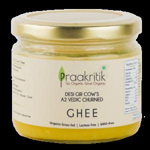 Praakritik Natural Desi Gir Cow A2 Ghee