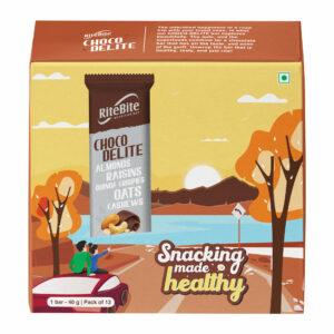 RiteBite Choco Delite Bars 480g - Pack of 12