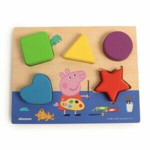 Peppa Pig's Shape Sorting Board