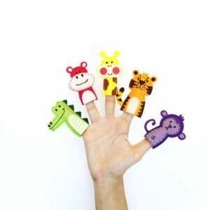 Jungle Adventure Finger Puppets Set