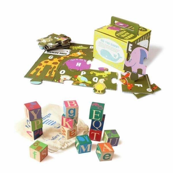 Alphabet Toys Combo