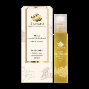 Aura Essential Oil Deodorant - Lavender & Vetiver 10ml