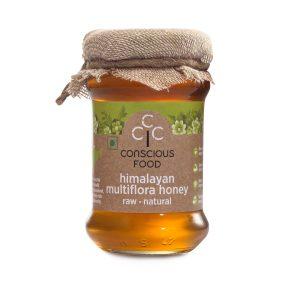 Conscious Food Himaliyan Multi Flora Honey 200g