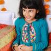 Ambar Embroidered Kurta with Baadal Sharara Pants