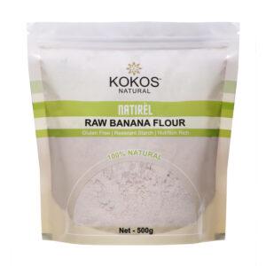 Kokos Natural Raw Banana Flour, 500g