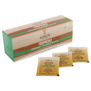 Kokos Natural Organic Coconut Sugar 25 sachets, 125g(Pack of 2)