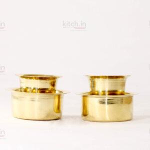 Brass Coffee set (Set of 2)