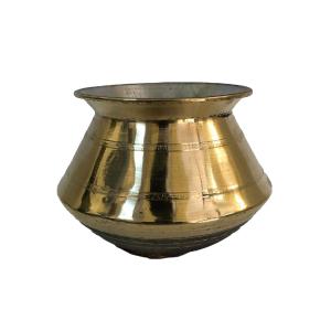 Brass Pot with Tin Coating